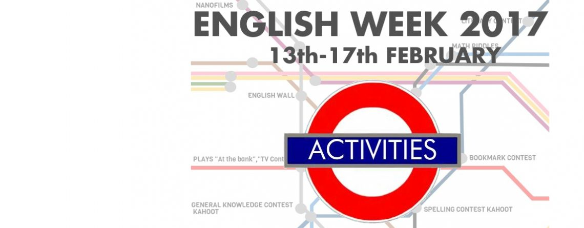 Ingelesaren  astea-English  week  2017