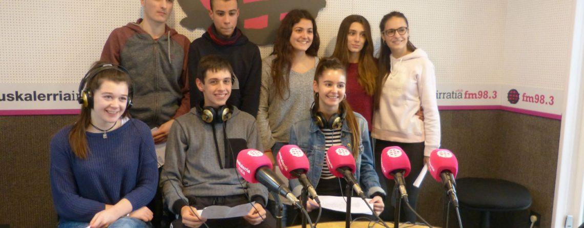 Programa de radio en Euskalerria Irratia