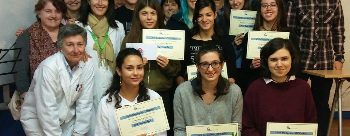 Entrega de premios del XVII Certamen Literario