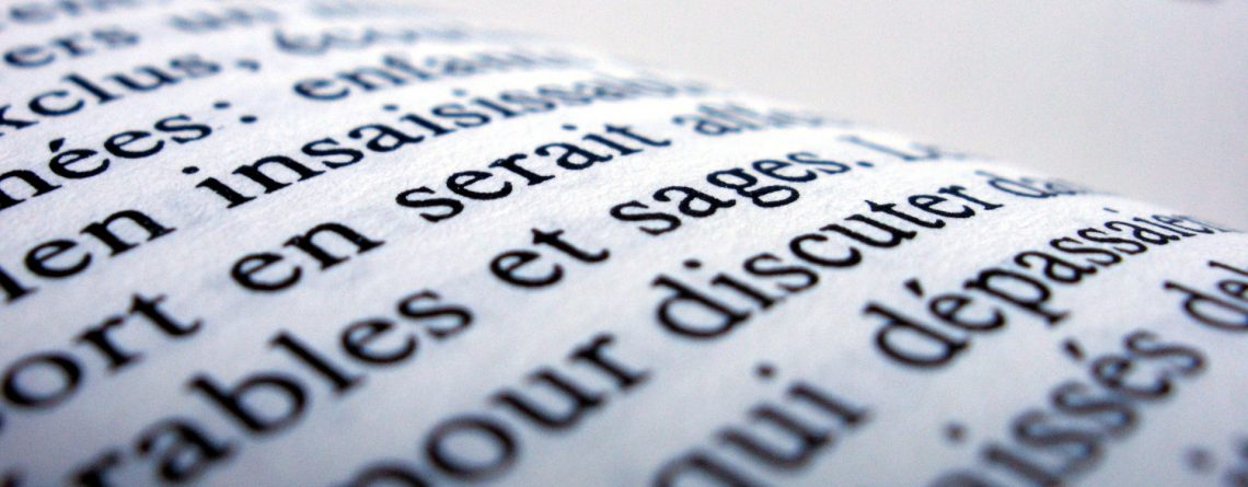 El francés en la web