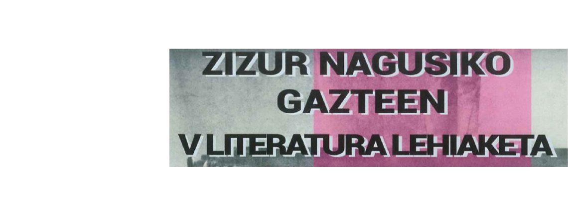 Zizur Nagusiko Gazteen. V Literatura Lehiaketa