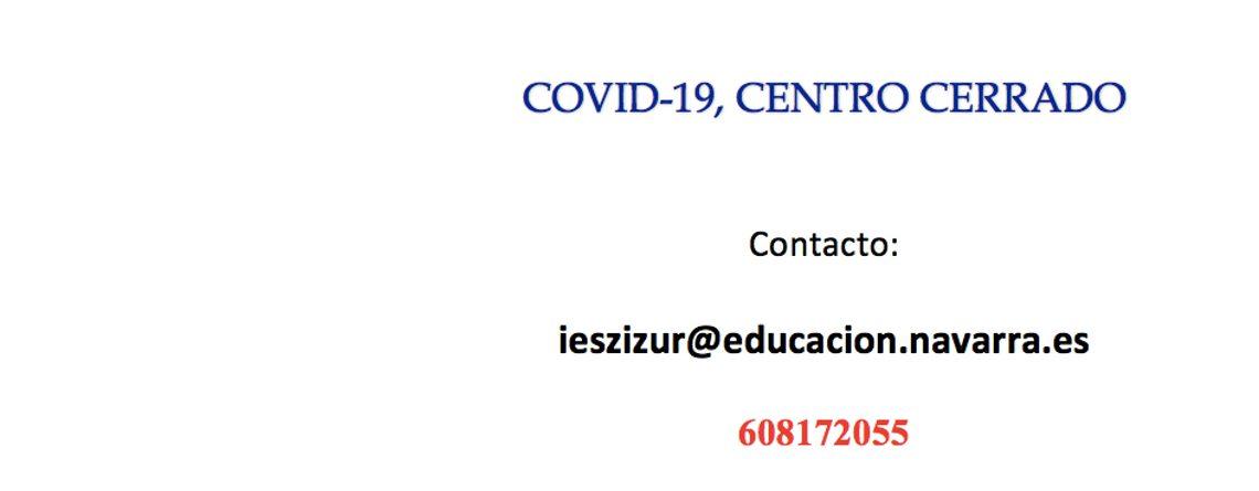 COVID-19, CENTRO CERRADO