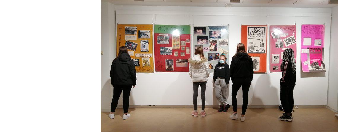 Exposición de fotografías sobre la insumisión