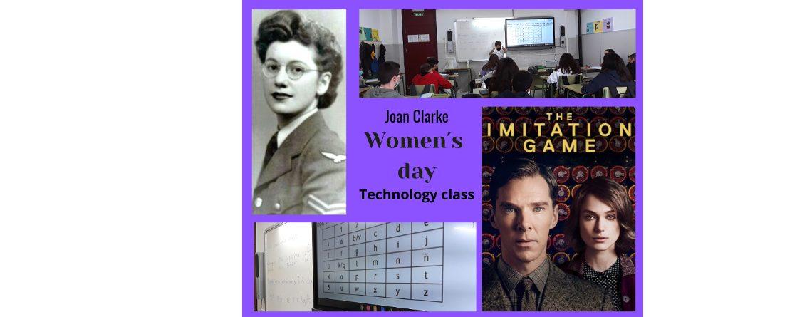 Teknologia klasea emakumearen egunean