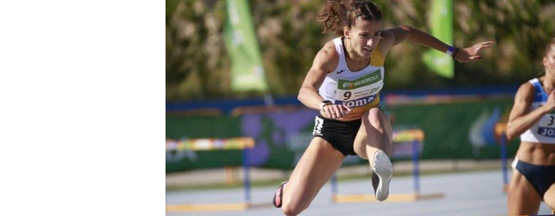 Nerea Bermejo, cinco récords navarros en un mes
