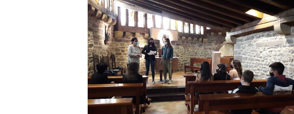 El  Museo Castillo de Javier premia al alumnado de Religión del IES Zizur BHI